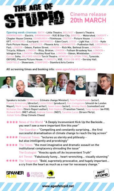 UK cinema release flyer 01